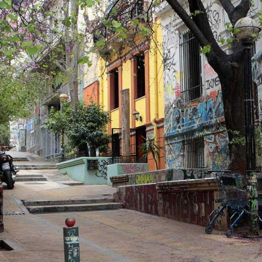 Exarchia heading for ambitious makeover